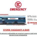 """Le """"Storie Viaggianti"""" di  Emergency oggi  e domani a Locorotondo"""