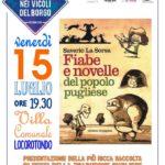 Fiabe e Novelle Del Popolo Pugliese Venerdì la presentazione a Locorotondo