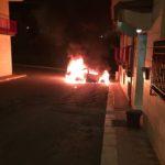 Ceglie, incendiata auto di un imprenditore martinese. Danni a una palazzina e diversi intossicati