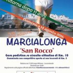 Ritorna quest'anno la MarciaLonga di San Rocco