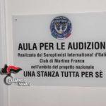 Una stanza per denunciare le violenze sulle donne. Presentato il progetto Carabinieri-Soroptimist