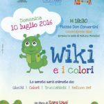 """Sara Usai presenta a Locorotondo il suo """"Wiki e i colori"""""""