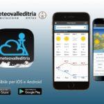 Meteo. Scaricate l'app di Meteovalleditria