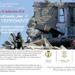 Locorotondo: domenica 18 settembre fiaccolata di solidarietà per le popolazioni colpite dal terremoto
