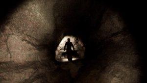 """l'immagine inedita della grotta """"Shpella Shtares"""" esplorata per la prima volta dal GSM"""