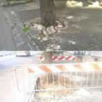 """Ceglie Messapica: Si discute sui social per le condizioni dei marciapiedi. Sindaco: """"Presto riqualificazione"""""""
