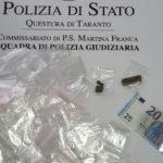 Droga, denunciato a Martina Franca uno spacciatore pregiudicato