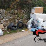 Controllo dell'ambiente, Carabinieri scoprono a Martina Franca due discariche di rifiuti pericolosi