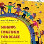 "Locorotondo: questa sera in programma l'evento di beneficenza ""Singing together for peace"""