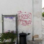 """Il Vicesindaco Coletta contro le scritte sui muri: """"Tolleranza zero con chi imbratta la città"""". Presentata querela contro ignoti"""