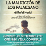 "Locorotondo: Rafael Nadal presenta ""La maeldicion de los Palmisano"""