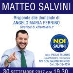 """Matteo Salvini a Ceglie: """"Il mio Sud, la mia Puglia"""""""