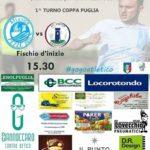 Primo turno di Coppa Puglia: l'AC Virtus Locorotondo sfida l'Atletico Pezze