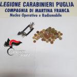 Ruba 20 euro da San Domenico. Prontamente rintracciato e denunciato dai Carabinieri