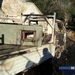 Tentato furto a San Paolo. Ritrovato a Specchia Tarantina il furgone utilizzato dai ladri