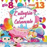 Locorotondo: tutto pronto per la nuova edizione del Carnevale