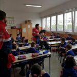 A scuola di Protezione Civile. L'Associazione Nazionale Carabinieri tra i banchi della Giovanni XXIII