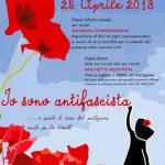 Io sono antifascista. 25 aprile, le iniziative di ANPI Martina Franca