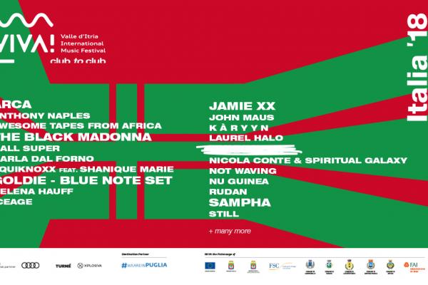 Viva! Festival 2018 locandina