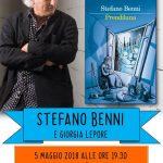 Sabato 5 maggio: Stefano Benni ospite a Locorotondo
