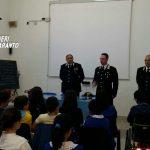 Lezioni di legalità. I Carabinieri di Martina Franca nelle scuole del tarantino