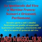 Eventi a Martina Franca. Oggi a Palazzo Ducale incontro tra le associazioni culturali