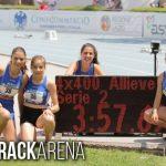 Alteratletica: nuovo record regionale nella staffetta 4×400