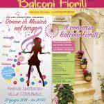 Locorotondo: al via la decima edizione di Balconi Fioriti