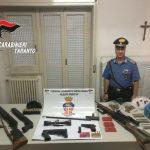 Un arsenale in casa. Carabinieri arrestano 53enne martinese