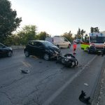 Locorotondo: brutto incidente in Via Martina