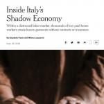 Alta moda e sfruttamento. Il caso Puglia sul New York Times