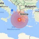 Terremoto in Grecia di magnitudo 6.8. Molte segnalazioni dalla Puglia
