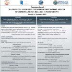 Femminicidio, blianci e prospettive: convegno a Taranto dopo 5 anni di sperimentazione sulla legge n. 119/2013