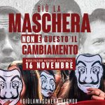 """Collettivo studentesco 080: Corteo di protesta contro i tagli del Governo. Gli studenti: """"Non prendeteci in giro, giù la maschera"""""""