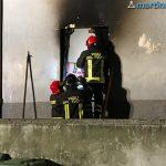 Incendio in via Pisacane: il palazzo è stato fortemente danneggiato. Ordinanza del Sindaco per l'eliminazione del pericolo