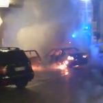 Locorotondo: torna l'incubo del piromane. Prendono fuoco due auto in Piazza Mitrano