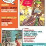 """Manuscripta presenta il libro""""Charlotte Solomon"""" e dona 60 graphic novel alla biblioteca di Martina"""