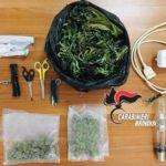 Nascondeva la marijuana nella lavatrice: arrestato un uomo di Ceglie di 34 anni