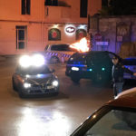 Auto in fiamme in Via Valle d'Itria. Traffico in tilt