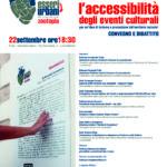 """Locorotondo: il 22 settembre alle 18:30 in programma """"L'accessibilità degli eventi culturali"""""""