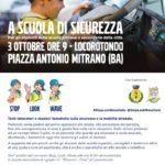 """Locorotondo: """"365 Giorni di Sicurezza"""". Oggi l'evento per la promozione della sicurezza stradale"""