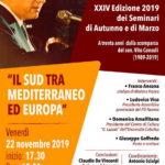 Ricordando Vito Consoli. Venerdì iniziativa a Palazzo Ducale