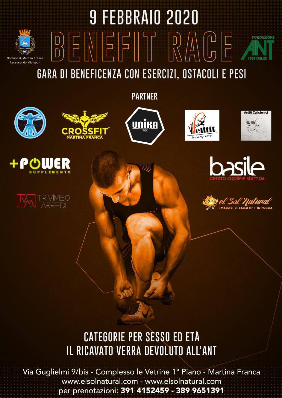 Ant Martina Franca benefit race. fitcross e solidarietà - valle d'itria news