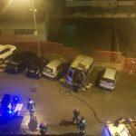 A fuoco due ambulanze a Martina Franca