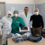 Coronavirus. Al Moscati arrivano nuove donazioni: colombe pasquali e macchinari