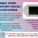 L'ABC di Ester regala cinque stetoscopi multifunzioni agli ospedali di Martina e Taranto