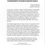 """La co-coordinatrice di Fratelli d'Italia: """"Chimienti non è in linea col partito""""."""