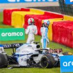 """F1. La maledizione di Spa. Brutto incidente per Giovinazzi : """"Chiedo scusa al team"""""""
