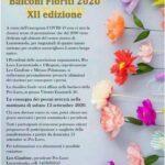 """Locorotondo: Balconi Fioriti 2020, premiazione in forma """"privata"""""""