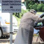 """Coronavirus:  Operativo il nuovo """"drive through"""" al Distretto Unico di Taranto per i tamponi in auto"""